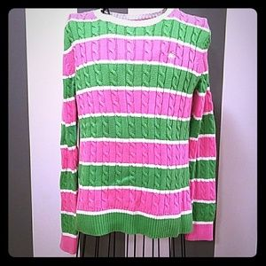 Lilly Pulitzer knit crew neck  sweater M