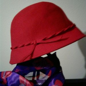 New Red Wool Hat