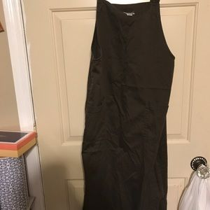 Chicos full length overall dress