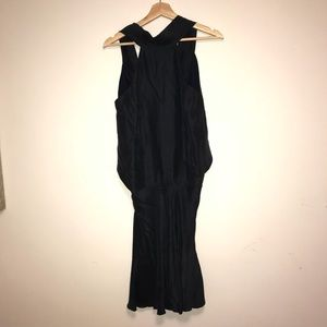 Emporio Armani 100% silk navy dress
