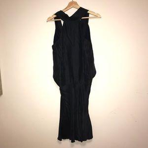 Emporio Armani 100% silk navy dress