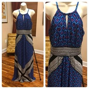 London Times patterned maxi dress!