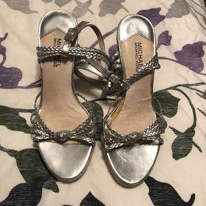 Michael Kors braided strap espadrille sandal