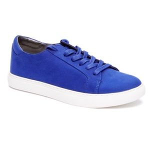 BRAND NEW Reaction Kenneth Cole Blue suede Shoes