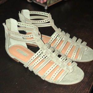 Olive sandals