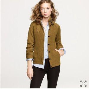 J.crew}• cream merino wool funnel neck sweater