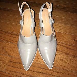 Calvin Klein Grey Heels