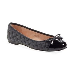 Sam Edelman Quilted Cap Toe Flats - Size 9