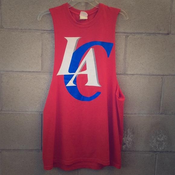 los angeles 6bd7e b466e Los Angeles Clippers Basketball 🏀 Tank Top Shirt