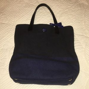 Coach wool purse with bow