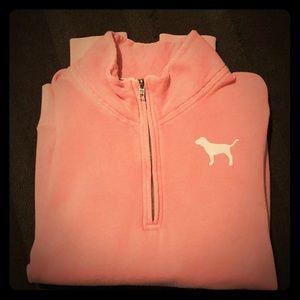 VS quarter zip sweatshirt
