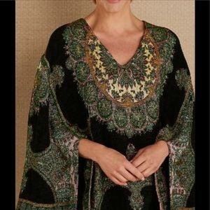 Soft Surroundings Jasveen Jacquard Gypsy Pullover