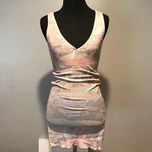 Nasty Gal Pastel Bodycon Dress