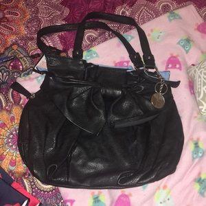 Elle black Faux leather purse