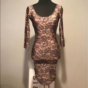 American Apparel Bodycon Lace Dress