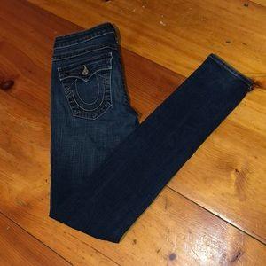 Women's True Religion Skinny Jeans. Size 30