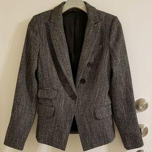 Express Black & White Blazer Size 0