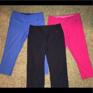 Women's Nike Active pants BUNDLE