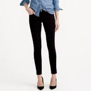 🆕 J. Crew Toothpick Jeans in Black