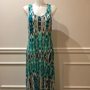 Cynthia Rowley Aztec maxi dress