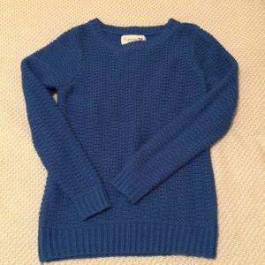 Blue fisherman sweater size small