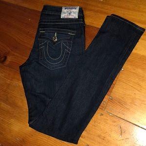 Women's True Religion Skinny Jeans. Size 29.