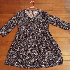 Woodland print cutesy dress