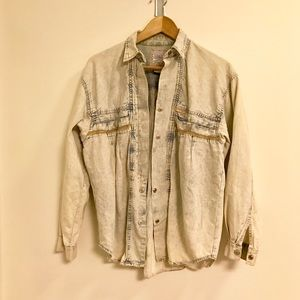 Vintage Jordache Denim Shirt