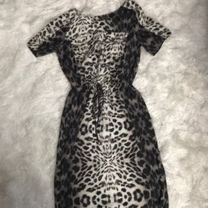 River Island leopard print dress