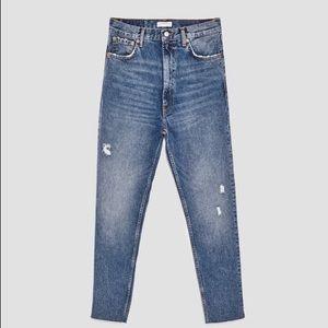 Zara high waisted jeans size 28