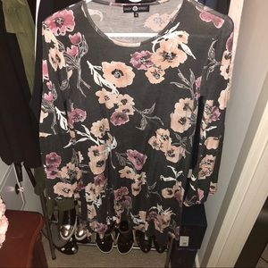 ASOS Bell sleeve floral dress