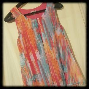 Cato's Women's Plus Size Multicolored Shirt