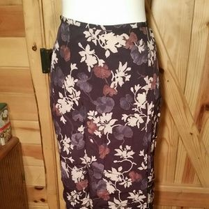 Vintage French Connection Skirt with Side Slit