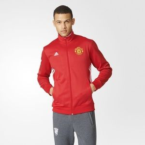 Adidas Soccer Track Jacket NWT Manchester United
