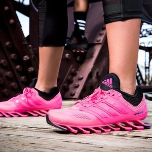 82% le adidas springblade guidare rosa nero poshmark.