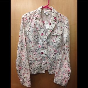 NWT cotton LOFT 🌺 jacket
