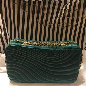 Henri Bendel No. 7 Quilted Camera Handbag Leather