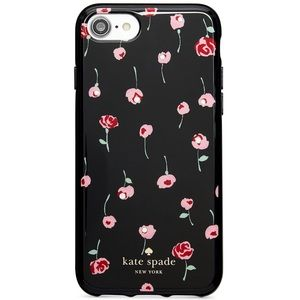 🌟NIB KATE SPADE JEWELED CAFE ROSE IPHONE CASE