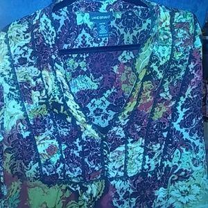 Plus Sz 26/28 Lane Bryant sheer blouse