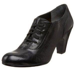 🖤 Nine West Natane Leather Heels Oxfords 7.5M 🖤