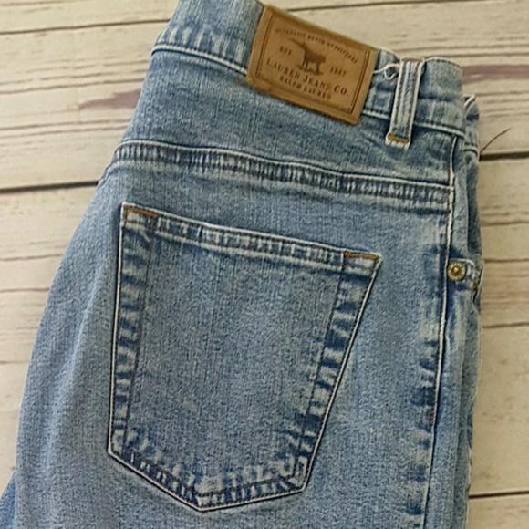 top design official store get online LRL Lauren Jeans Co. vintage high rise mom jeans