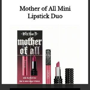 🆕KAT VON D MOTHER OF ALL MINI LIP DUO NEW IN BOX