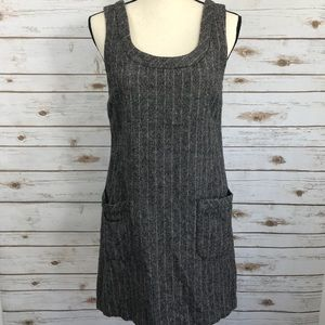 Old Navy Mod Style Dress Pockets Wool Blend 6