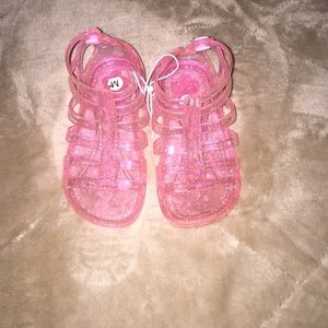 Other - Girls sparkle jelly sandals