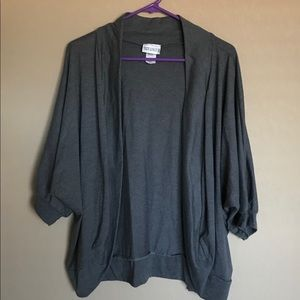 Sweaters - Plus Size Cocoon Cardigan