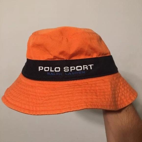 602fbb78 POLO SPORT Ralph Lauren Bucket Hat USA 90s 92 vtg.  M_5a1621c94127d03b7b00aaef