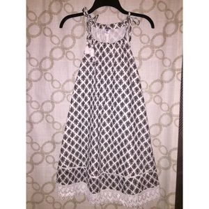 NWT black and white Old Navy dress