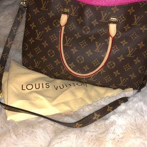 Authentic Louis Vuitton Pallas leather handbag