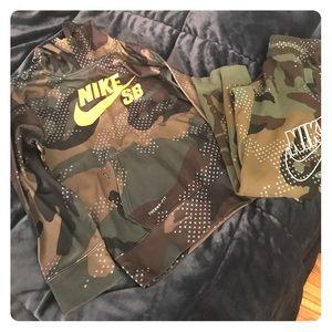 Nike Sweat Suit Boys