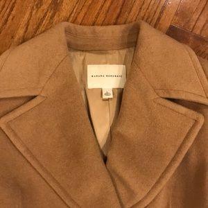 Banana Republic Full Length Camel Coat (size L)